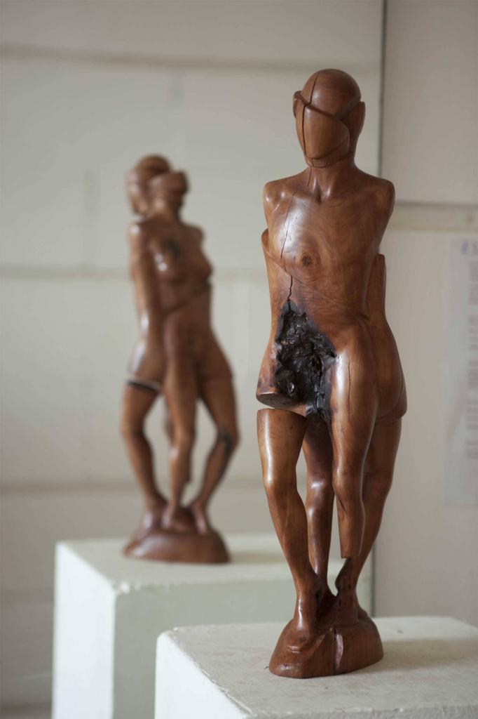 'Aborda II' heykel sergisi CKM Sanat Galerisi'nde